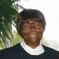Mrs. Frances Elizabeth Singleton
