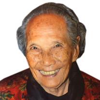 Madame Wen Hong ZHANG