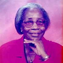 Mrs. Annie Pearl Ross