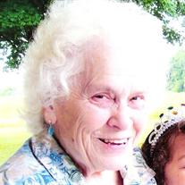 Mrs. Grace Bertha Plegge
