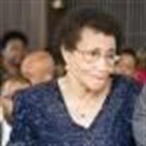 Mrs. Inez Cockerham Evans