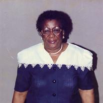 Mrs. Janie Simmons Singleton