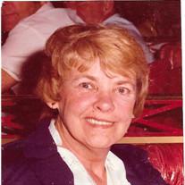 Margaret E. (Wright) O'Brien