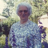 Mrs. Nellie Geneva Taylor