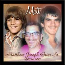 Mr. Matthew Joseph Grier Sr.