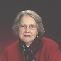 Mrs. Mae Crosby  Yelton