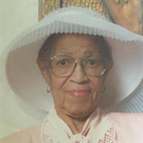 Mrs. Daisy M. Evans