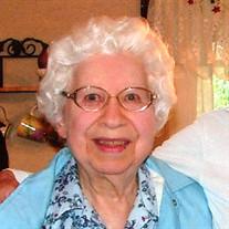 Mrs Betty Belle Bowman