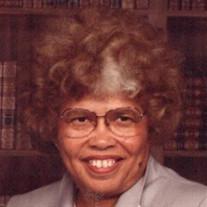 Mrs. Willie Mae Hunter