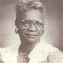 Dr. Johnetta Ferguson Marshall