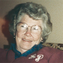 Ruth Evelyn Patterson