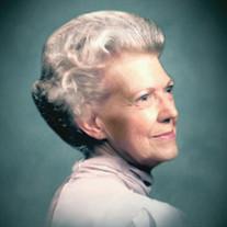 """Mrs. Robbie H. """"Bobbie"""" Lallerstedt"""