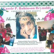 Cassie  P. Robinson