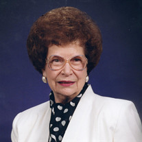 Mrs. Lillian H. Buie McDonald
