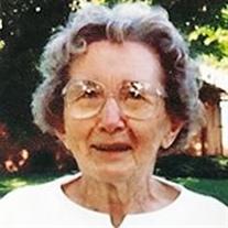 Virginia J. (Evans) Burrows
