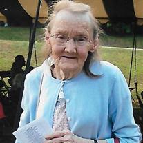 Mrs. Guyrine Wilder Bordua