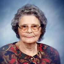 Alma Lorene Crossfield