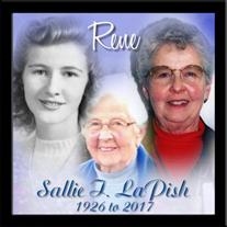 "Sallie Irene ""Rene"" LaPish"