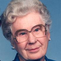 Mrs. Edith Martha Collins