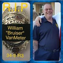 """Mr. William """"Bruiser"""" VanMeter"""