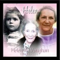 Helen W. Vaughan