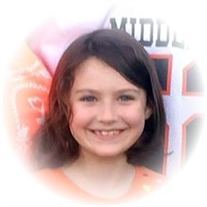 Kaitlyn Marie Lambert, 9, of Saulsbury