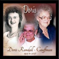 Doris (Boettger) Randall - Cauffman