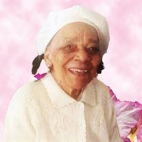 Mother Willie Mae Haynes-Sanders