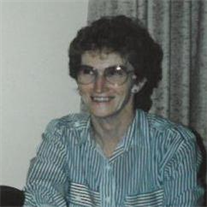 Evelyn Belle (Gump) Boursaw