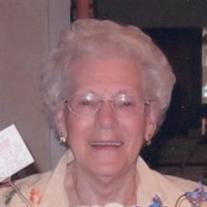 "R.  Elizabeth ""Betty"" Hatke Sanders Booher"