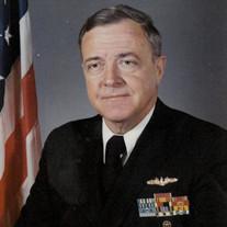 "Captain Ewing Raiford ""Mickey"" McDonald, Jr, USN, Ret."
