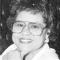 "Frances ""Rosie"" Jeanette Betterson"