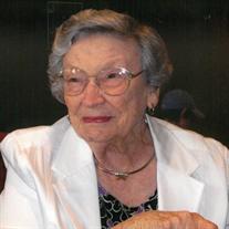 Mrs. Ruth Marie Peacock