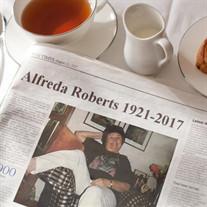 Alfreda  Roberts