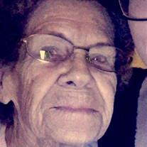 Mrs. Juanita Saylor Burcham