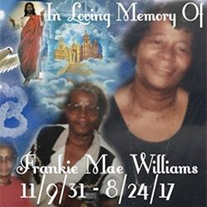Mrs. Frankie Mae Williams
