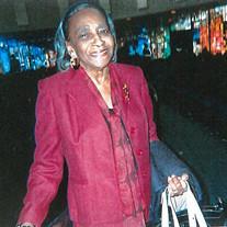 Mrs. Susie A. Montgomery Edwards