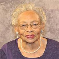 Mrs. Rosie Bell Hill