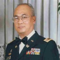 CW5 (Ret.) Antonio B. Eclavea,