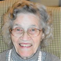 """Mrs. Clare """"Pat"""" Stevens Ingersoll"""