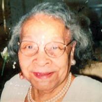 Mrs. Clara Mae Jackson