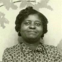 Mrs. Sarah Benson