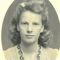 Mildred Aline (McCann) Smith of Bethel Springs, Tennessee
