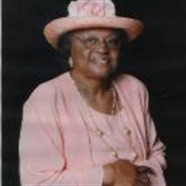 Mrs. Luecreasie S. Robinson