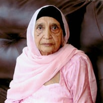 Mrs. Kartar Kaur (Dr. Singh's Grandmother)