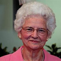 Mrs Rebecca Eleanor Burnette