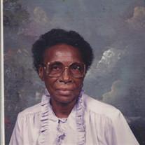 Mrs. Bessie Smith Hunter