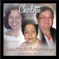 Charlotte M. Rothenberger