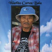 """Warlito """"Lito"""" Cortez Bala"""