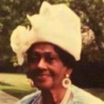Mrs. Mattie Bell Buckner